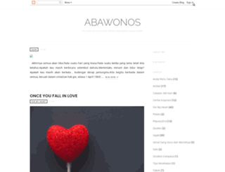 abawonos.blogspot.com screenshot