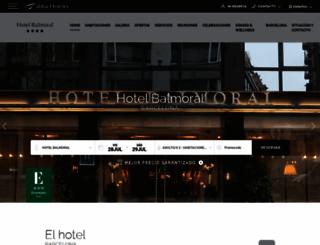 abbabalmoralhotelbarcelona.com screenshot