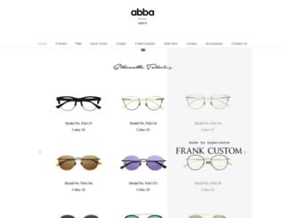 abbaopticalusa.com screenshot