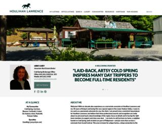 abbiecarey.houlihanlawrence.com screenshot