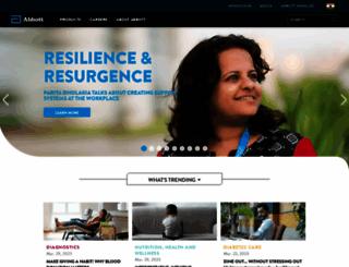 abbott.in screenshot