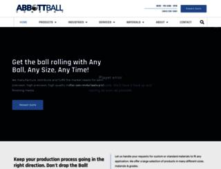 abbottball.com screenshot