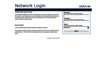abbvie.service-now.com screenshot