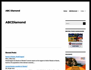 abcdiamond.com screenshot