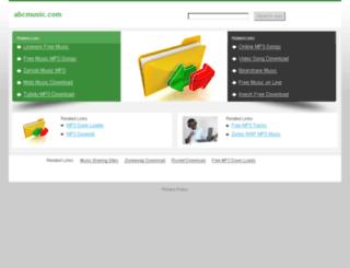 abcmusic.com screenshot