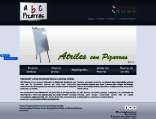 abcpizarras.cl screenshot