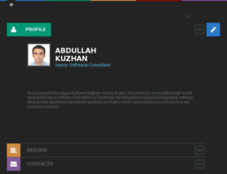 abdullahkuzhan.com screenshot