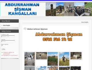 abdurrahmansismankangallari.com screenshot