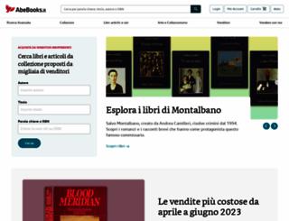 abebooks.it screenshot