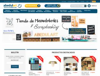 abedulart.com screenshot