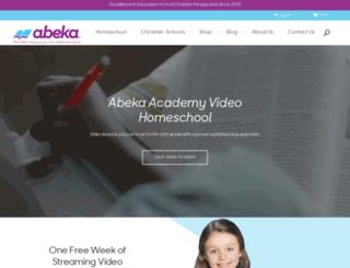 abekaacademy.org screenshot
