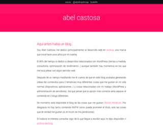 abelcastosa.com screenshot