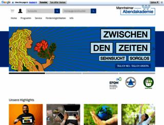abendakademie-mannheim.de screenshot