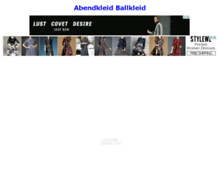 abendkleid-ballkleid.de screenshot