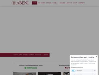 abeni.it screenshot
