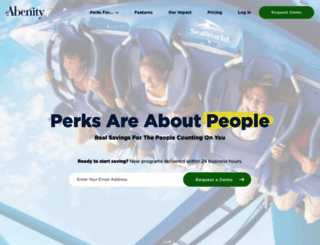 abenity.com screenshot