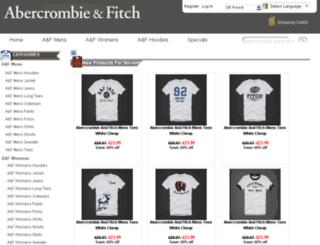 abercrombieandfitchireland.com screenshot