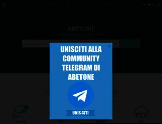 abetone.com screenshot