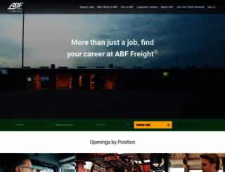 abffreight.jobs screenshot