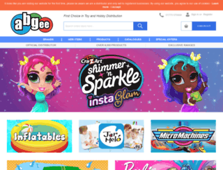 abgee.co.uk screenshot