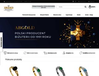 abgold.pl screenshot