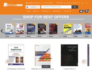 abhinavshop.com screenshot