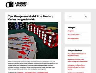 abhishekbachchan.org screenshot