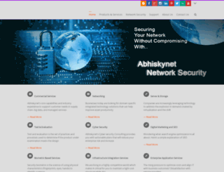 abhiskynet.com screenshot