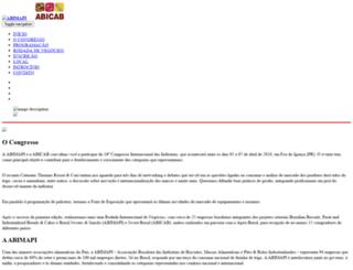 abicab.org.br screenshot