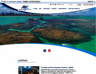 abih-pb.com.br screenshot