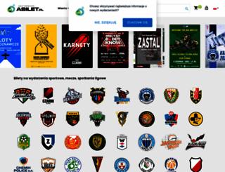 abilet.pl screenshot