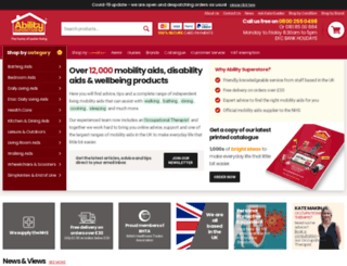 abilitysuperstore.com screenshot