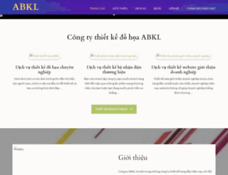 abkldesigns.com screenshot