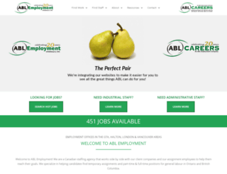ablemployment.com screenshot