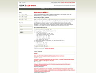 abmcs.stie-mce.ac.id screenshot