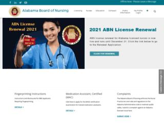 abn.state.al.us screenshot
