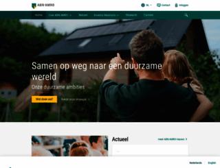 abnamro.com screenshot