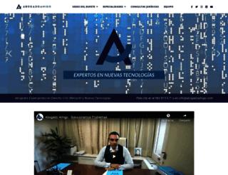 abogadoamigo.com screenshot