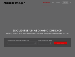 abogadochingon.com screenshot