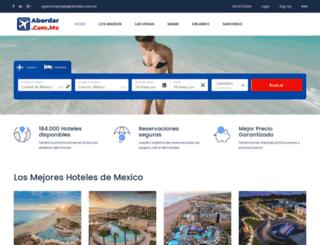abordar.com.mx screenshot