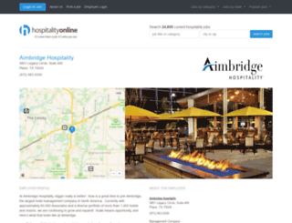 about.aimbridgehospitality.com screenshot