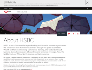 about.hsbc.ae screenshot
