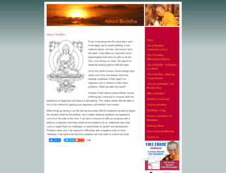 aboutbuddha.org screenshot