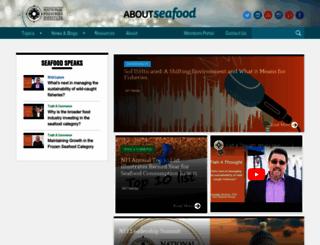 aboutseafood.com screenshot