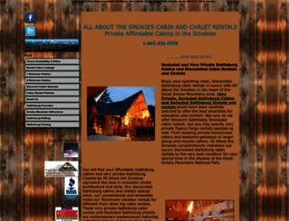 aboutthesmokies.com screenshot