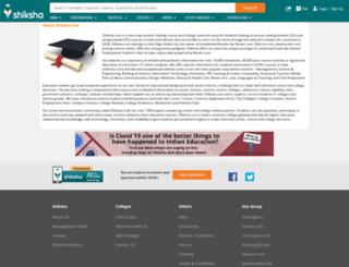 aboutus.shiksha.com screenshot