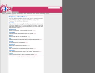 aboutvb.de screenshot