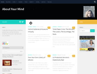 aboutyourmind.com screenshot