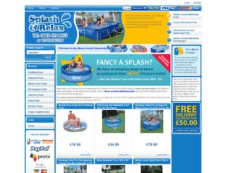 above-ground-swimming-pool.co.uk screenshot