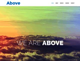 above.company screenshot